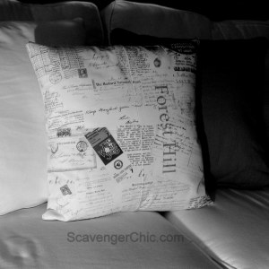 Personalized Heirloom pillow