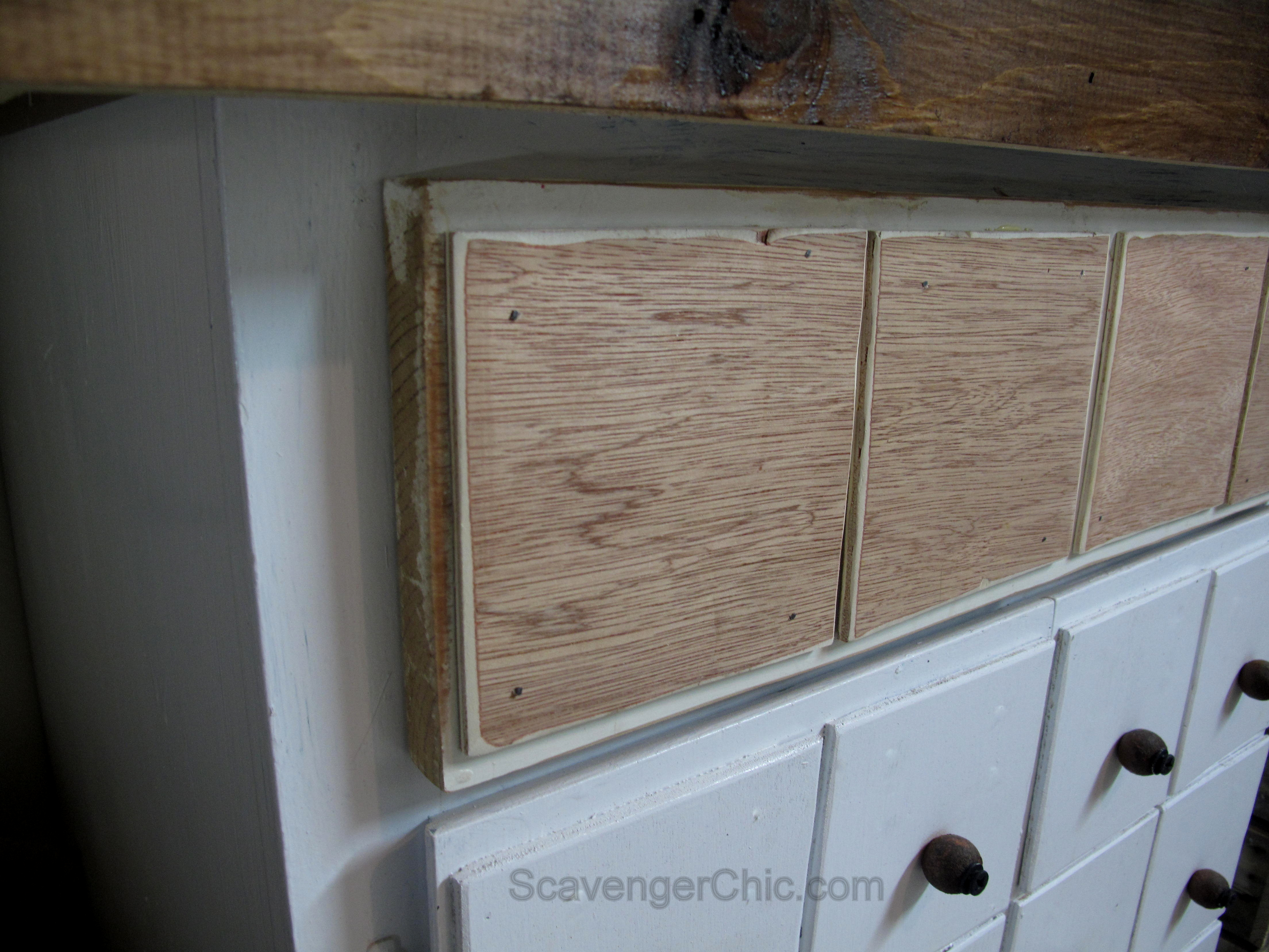 Faux Apothecary Cabinet/ Workshop Storage - Scavenger Chic