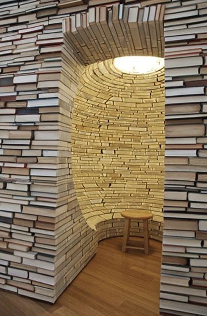 20+ Amazing Recycled Wall Ideas-35 Things To Do With All Those Books - Google Chrome 2272015 31006 PM.bmp