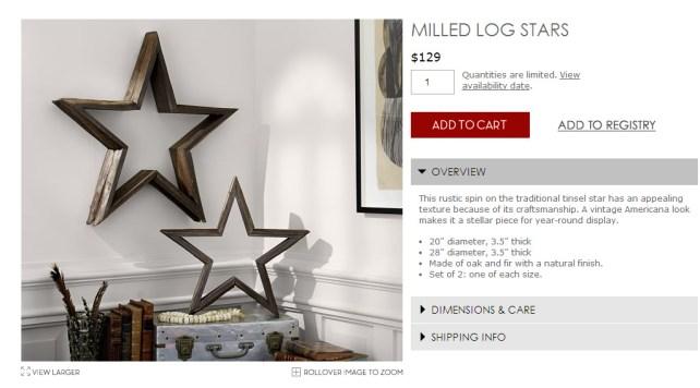 Milled Log Stars  Pottery Barn - Google Chrome 2252015 113748 AM.bmp