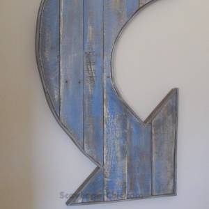 Pallet Wood Arrow diy