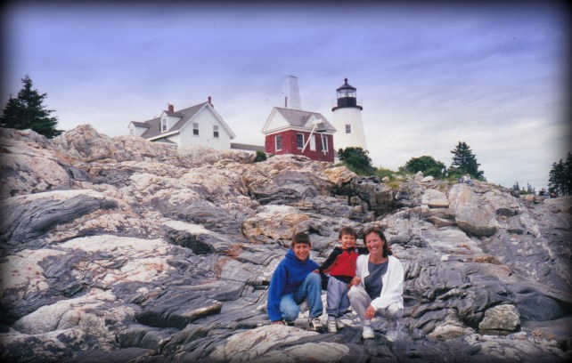 Maine Lighthouse- Pemaquid Point