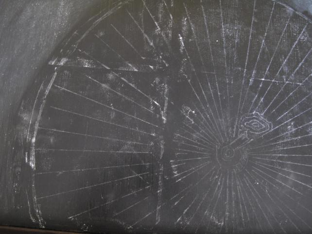 Chalkboard Buffet diy