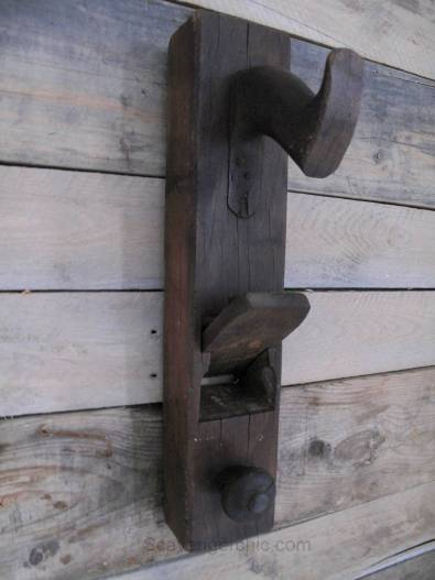 Woodworking Planer Repurposed- Wall Hook