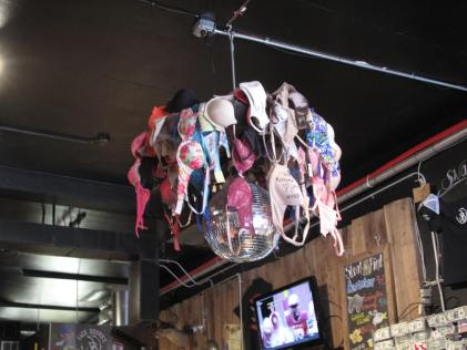 recycled bras lighting