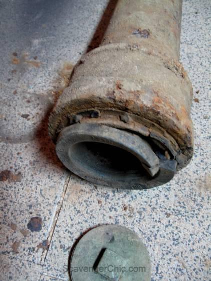Rusty Pipe Lamp diy