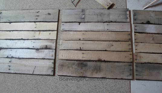 Pottery Barn Inspired Pallet Wood  New York Map