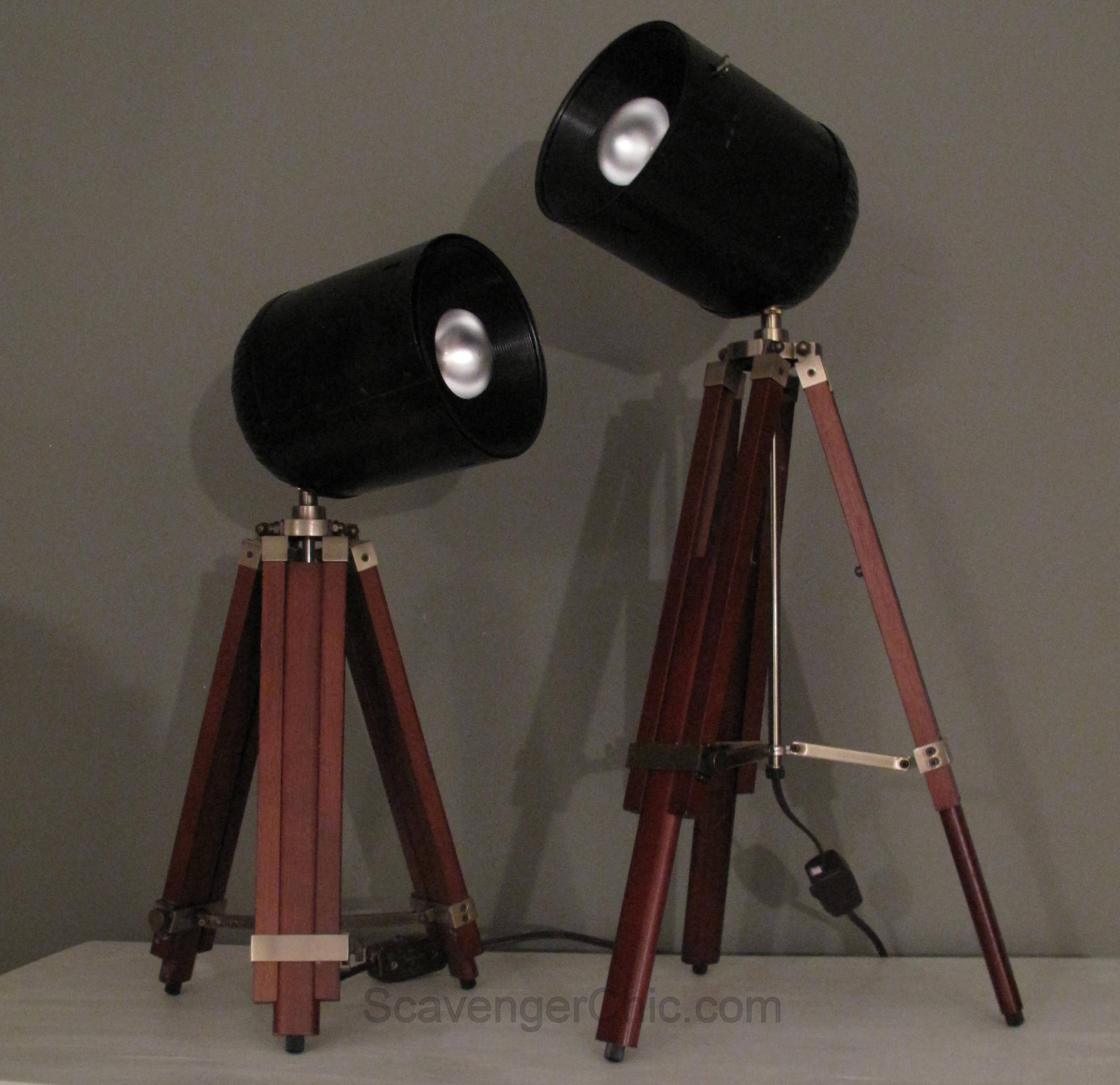 Spotlight Tripod Lamp diy