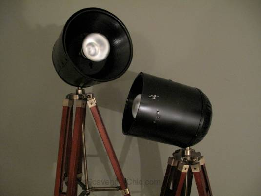 Tripod Spotlight Lamp diy-003