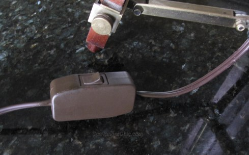 Tripod Spotlight Lamp diy wiring a thumb switch-003