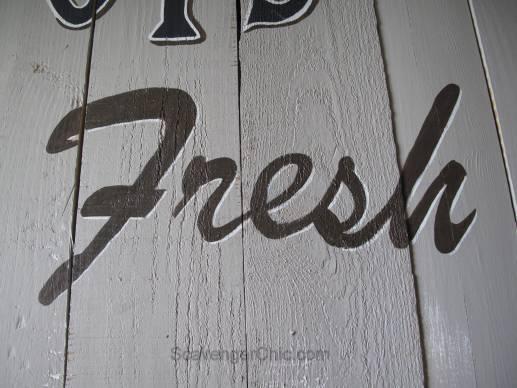 Vintage Oyster Sign diy-011