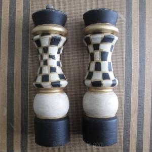 Salt and Pepper Mill Makeover