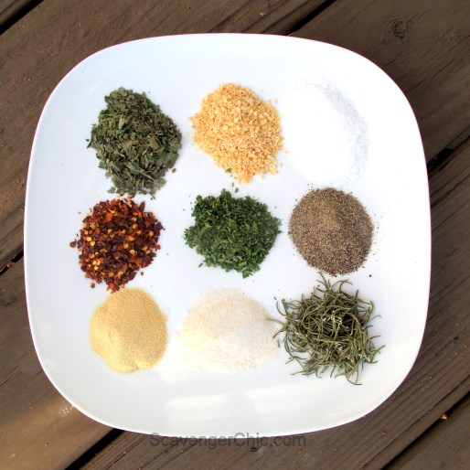 Bread Dipping Seasonings
