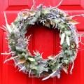 Winter, Ivy and Seedpod Wreath