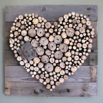 Sticks & Pallet Wood Heart