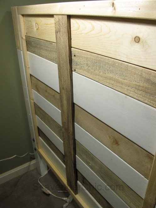 This End Up Loft Bed gets a Makeover