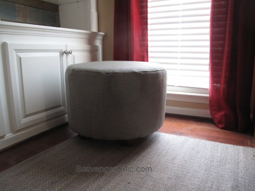 Upcycled Wire Spool Ottoman-015