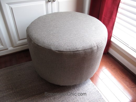 Upcycled Wire Spool Ottoman-017