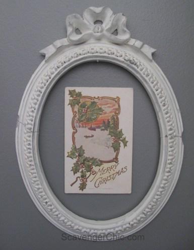 Rotating Postcard Display Gallery Wall