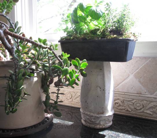 Indoor Planter from Thrift Store Finds