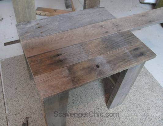 Pallet Wood Garden Chair