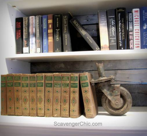 Repurposed Books and Hidden Lockbox Storage