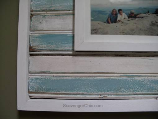 Vintage Bead Board Frame-002