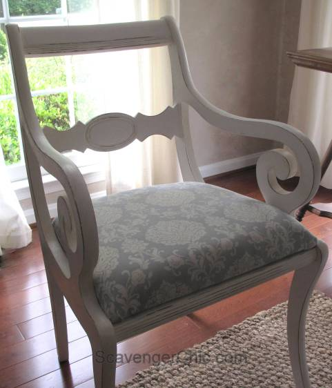 Reupholstered Dining Room Chair diy-012