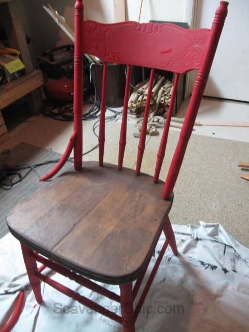 Trashed chair given a new life-008