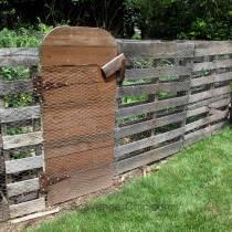 Walled Pallet Garden Update