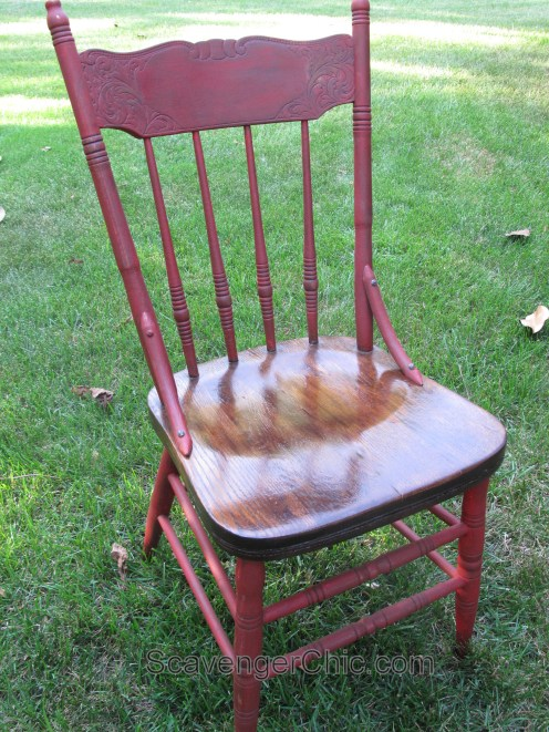 New Life for a Curbside Chair