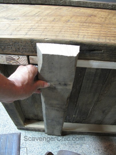 Step by Step Instructions for an Upcycled Hand Cart Coffee Table