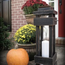 DIY Exterior Porch/ Floor Lantern