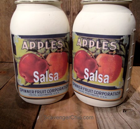 Homemade gifts, gifts kids can make, Apple Salsa