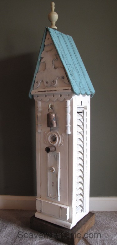 DIY Shutters and Junk Birdhouse