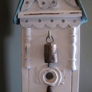 Junky Shutter Birdhouse