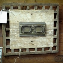Upcycled Eyeglass mold Wall Art