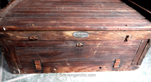 Upcycled chicken incubator Coffee Table