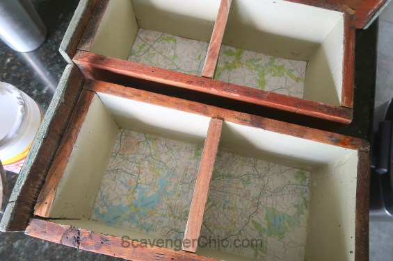 Upcycled, Recycled, Repurposed Drawer Shelves-006