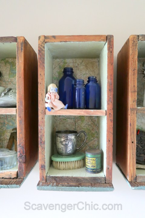 Upcycled, Recycled, Repurposed Drawer Shelves-011