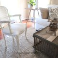 Upholstered French Chair Makeover DIY