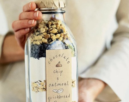 Quick bread in a bottle - Homemade and DIY Gifts