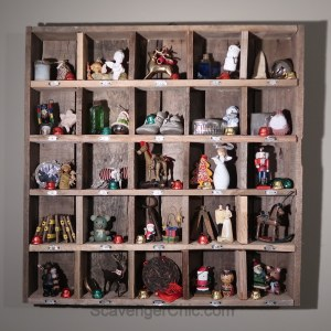Pallet Wood Advent Calendar