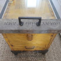 Life Raft Supply Crate Coffee Table - Flea Market Flip
