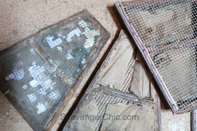 Upcycled Old Mill Sifter Pendant Light DIY-002