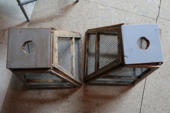 Upcycled Old Mill Sifter Pendant Light DIY
