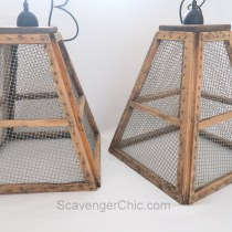 Mill Sifter Pendant Lights