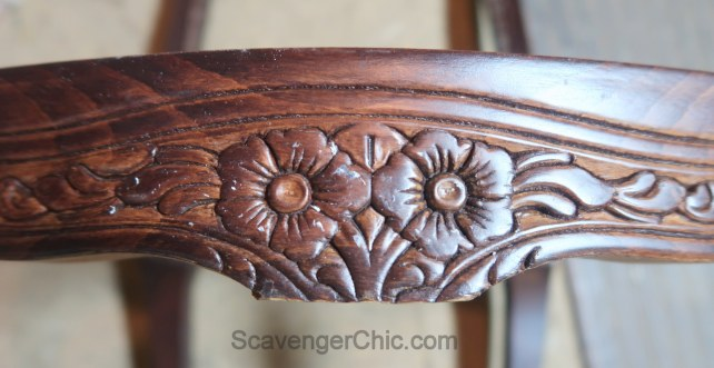 Upholstered French style chair makeover diy-007