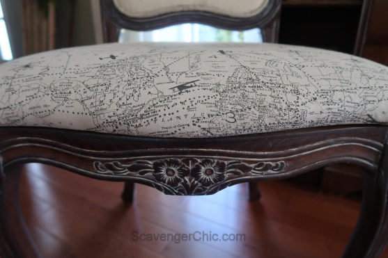 Upholstered French style chair makeover diy-022