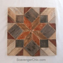 Pallet Wood Quilt DIY